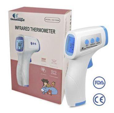 Инфракрасный бесконтактный термометр для измерения : тел, жидкостей