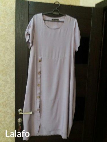 Новое платье штапель размер-46-48 стильное. в Бишкек