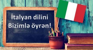 İtalyan dili Kursu.İtalyan dilini tam yeni tədris metodikası ilə