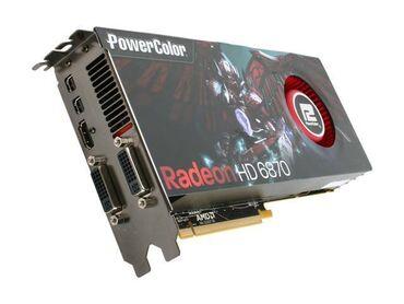 AMD Powercolor Radeon HD 6870 900MHZ 1GB 4.2GHZ GDDR5Рабочая, сейчас