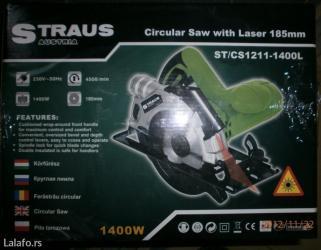 Straus austria ručni cirkular od 1300w - Subotica