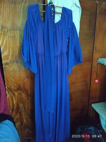 вечернее платье синий цвет в Кыргызстан: Платье Вечернее Benetton XXL