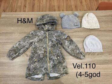 H&M Vel.110(4-5god) jakna za devojcice za prelaz( prolece). Mere