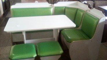 Новый кух. уголок + стол+ 2 таб ,размер 1.10*1.50, с дост по городу в Бишкек