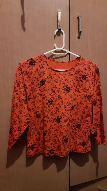 Μπλουζακι βαμβακερο πορτοκαλι Νο Μ καινουργιο αφορετο με τρουακαρ