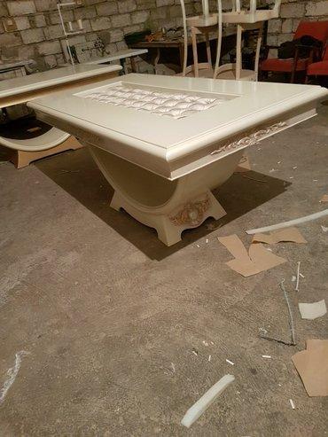 Bakı şəhərində Eziz müşteriler masa sifarişle yıqlır ortası paxlava üstine