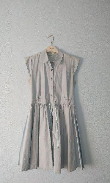 вязаное голубое платье в Кыргызстан: Платье лёгкое нарядноеРазмер LНежно голубого цветаПо всем вопросам