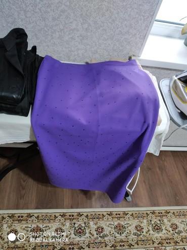 юбка стандарт в Кыргызстан: Юбка, стандарт, трикотаж турецкий, очень удобный, тянется при