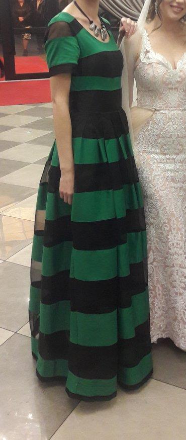 вечернее зеленое платье в Кыргызстан: Продаю вечернее платье. идеально сядет на любую фигуру. Производство