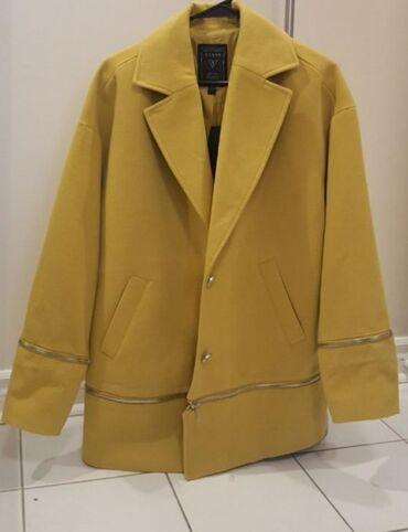 Jakna s - Srbija: Sako - jakna guess model micah cocoon coat( topla oker boja).Sako sa