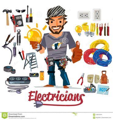 Электрик | Монтаж проводки, Монтаж розеток, Монтаж электрощитов | 1-2 года опыта
