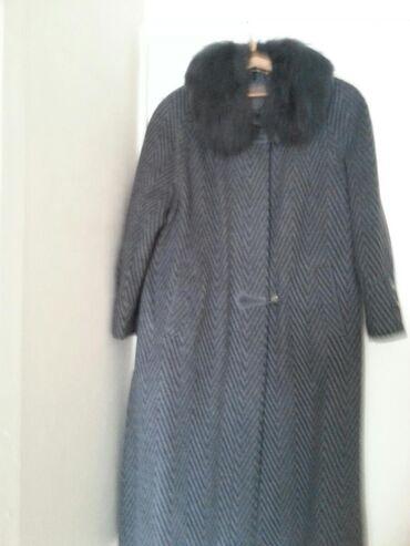 пальто лама в Кыргызстан: Пальто бельгийское, воротник лама, в отличном состоянии