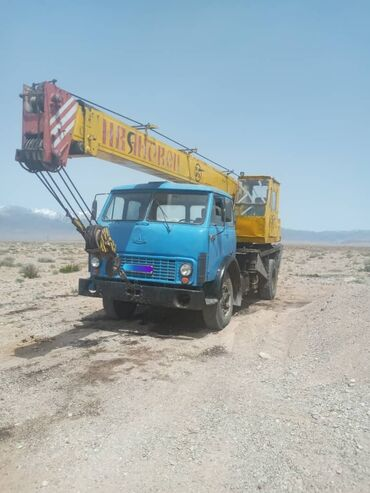 грузовой в Кыргызстан: Продается грузовой транспорт, крановая установка, МАЗ 5334. 1989г