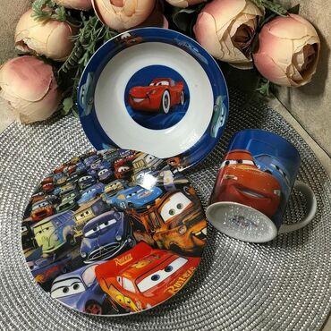 Набор детской посуды, 3 предмета