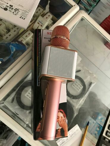 Mikrofonlar - Azərbaycan: MİKROFON.KARAOKE SƏS YAZAN SƏS GÜCLƏNDİRİCİ