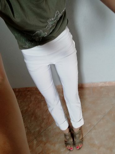 Personalni proizvodi | Jagodina: Pantalone orsay 7/8Vel. S. Elastina ima puno. Extraaaa su. Saljem post