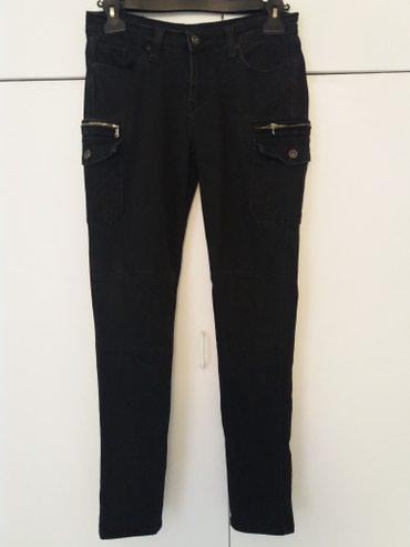 Crne pantalone sa dzepovima - Srbija: Farmerke skinny. sa dzepovima. 31vel. 96%pamuk 4%elastin. nosene