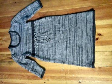 Платье вязаное ,на девочку 10-12 лет в Кок-Ой