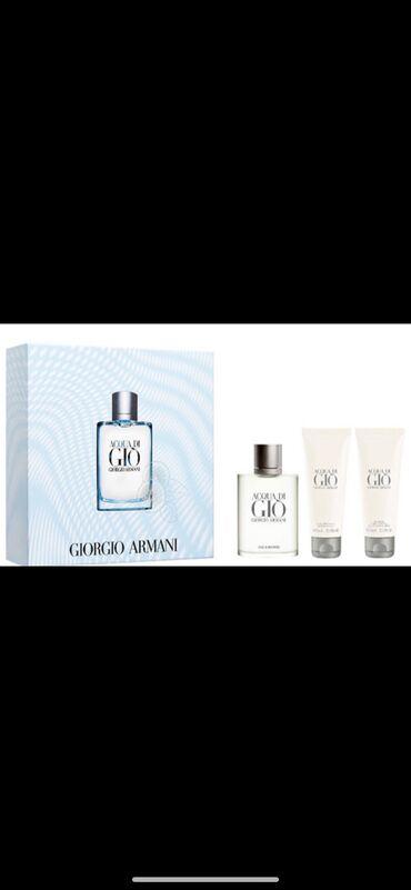 Giorgio Armani Acqua di Gio Pour Homme Отличный набор для подарка Ориг