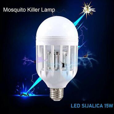 Sijalica za komarce 15W Fenomenalna za kućnu upotrebuUživajte u kući