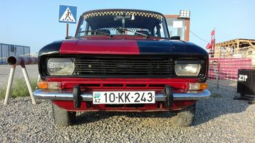 moskvic - Azərbaycan: Moskviç 2140 1.5 l. 1986 | 25807 km