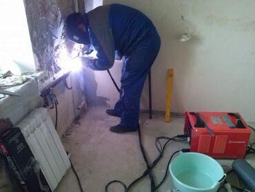 сантехник слава в Кыргызстан: Сварщик, Сантехник, Отопление любой сложности. Нафес,ферма,лестница