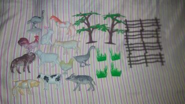 Игрушки в Джалал-Абад: Фигурки животных 12 шт Город Джалал-абад