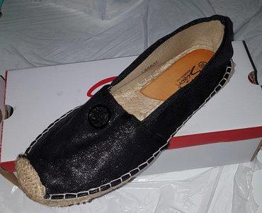Ženska obuća | Futog: Crne espadrile, br 39, ocuvane, bez ostecenja, jednom obuvene, razlog