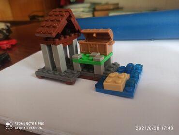 Детский мир - Орловка: Minecraft legi house дом. Дом, сундук, пруд, песок. Маинкрафт