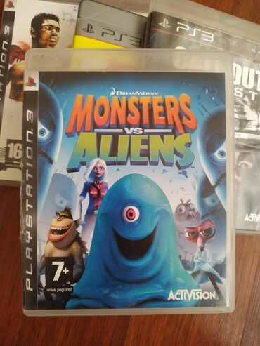 "Sony Playstation 3 Modelleri Üçün ""MONSTERS VS. ALİENS"" Original Oyun"