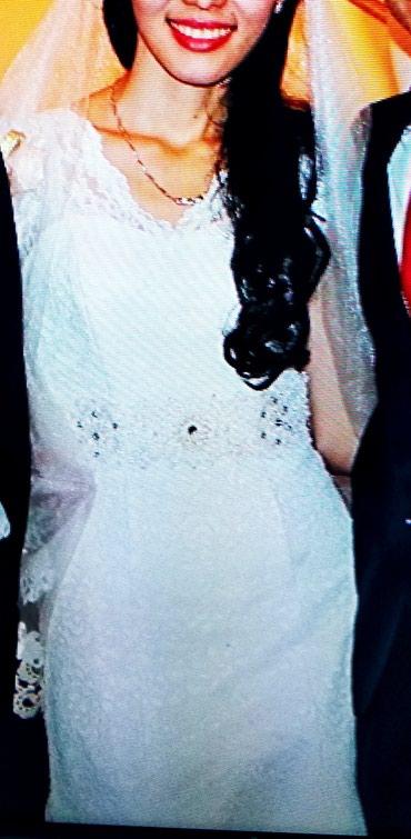 Свадебное платье. одевала только на в Бишкек