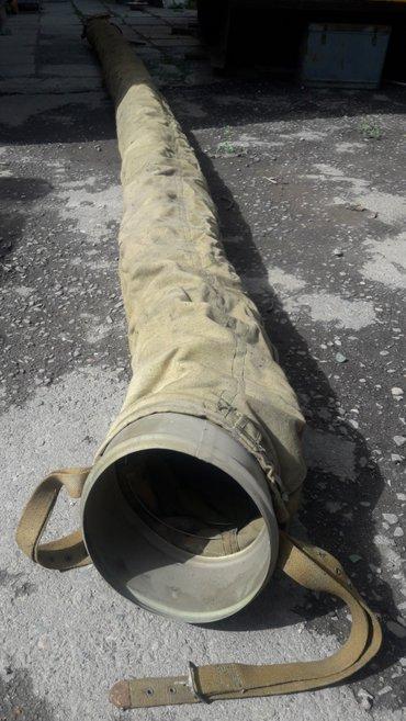 Брезентовый шланг, 250мм, длина 5м. Для микроГЭС в Бишкек