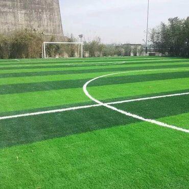 искусственная трава бишкек in Кыргызстан | ГРУЗОВЫЕ ПЕРЕВОЗКИ: Искусственный газон для футбола, характеристики 40 мм высота, Дитекс