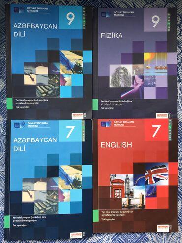 kimya - Azərbaycan: 2si 5 manat olacaq. 7ci ve 9cu sinif testleri. Azerbaycan dili
