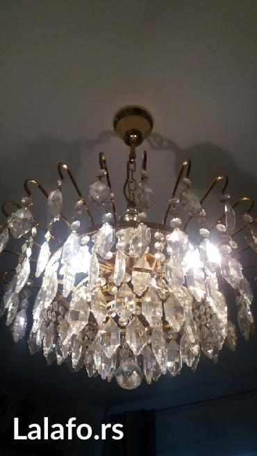 swarovski kristali luster,iz inostranstva bez ostecenja - Kragujevac