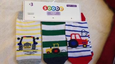 вязаные детские носки в Азербайджан: Soobe usaq corabi yeni 6-12 ay, детские носки 6-12 мес