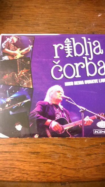 Riblja corba 2cd 1 dvd - Belgrade