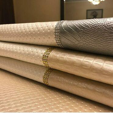 Эксклюзивные скатерти из экокожи по размерам Вашего стола. Всё новое