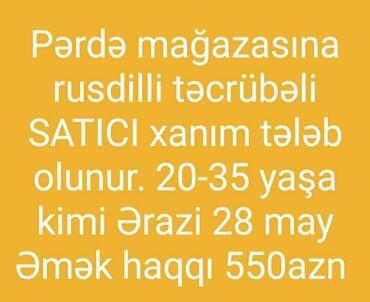 Satış məsləhətçiləri. Təcrübəli
