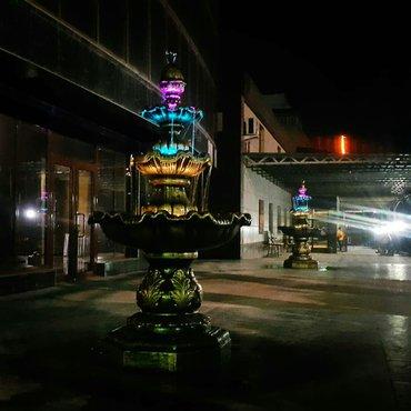 Циркуляционный фонтан с RGB подсветкой. в Балыкчы