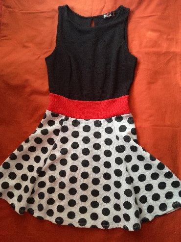Φόρεμα σε Α γραμμή, μεσάτο, σε μέγεθος S, μία φορά φορεμένο