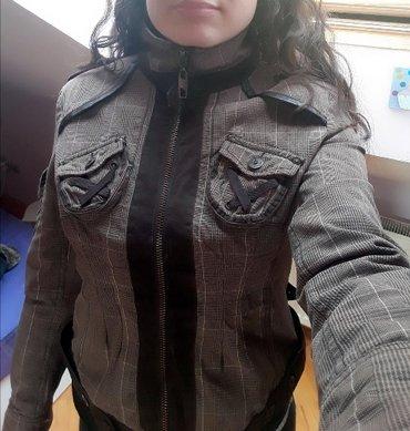 Nova braon jakna kenvelo l kvalitetna - Beograd