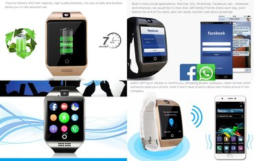 Najnoviji q18 smart watch - pametni sat -mobilni telefon  novo, - Kragujevac - slika 3