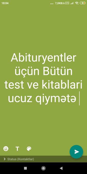 yojik qrup nedir - Azərbaycan: Abituryentler üçün 4cu qrup üzrə ucuz qiymətə testler kitablar