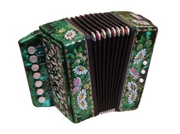 Гармошки - Кыргызстан: Описание:GN-25 Гармонь сувенирная «Кроха», 7х3-I, Тульская