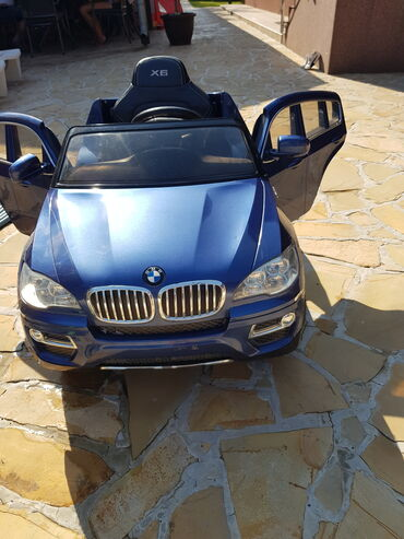 Bmw x6 m50d servotronic - Srbija: Deciji auto na baterije. BMW X6. Kozno
