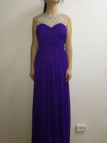 Шикарное платье Macy's (размер М) Привезла из Америки, одевала 1 раз в Бишкек