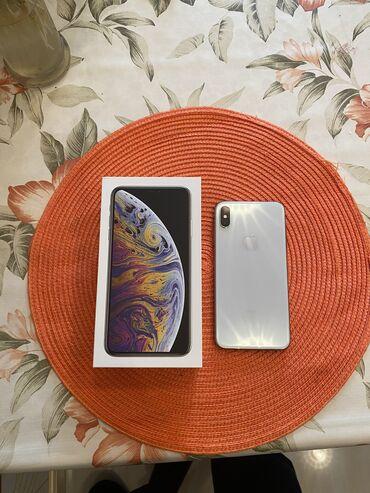 IPhone Xs Max | 256 GB | Gümüşü | İşlənmiş