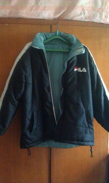 двусторонняя теплая куртка. можно лыжникам. размер 48-50. мужская в Бишкек