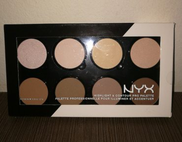 NYX HIGHLIGHT AND CONTOUR PRO PALETTE ολοκαίνουργια σε Rest Of Piraeus